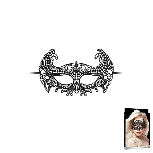 Empress Black Lace Mask